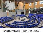 berlin   germany   february...   Shutterstock . vector #1342458059