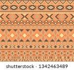peruvian american indian...   Shutterstock .eps vector #1342463489