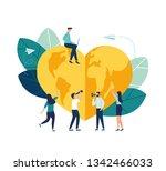 vector creative illustration of ... | Shutterstock .eps vector #1342466033