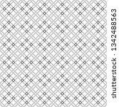 vector seamless pattern.... | Shutterstock .eps vector #1342488563