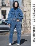 paris  france  february 27 ... | Shutterstock . vector #1342512356