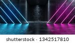 neon glowing laser led vibrant... | Shutterstock . vector #1342517810
