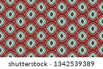 seamless geometric pattern. ... | Shutterstock .eps vector #1342539389