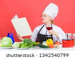 culinary expert. chef cooking... | Shutterstock . vector #1342540799