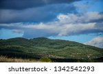 mountain landscape. blue sky...   Shutterstock . vector #1342542293