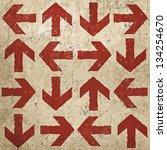 Artistic Vintage Design Arrows  ...