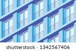 vector isometric building... | Shutterstock .eps vector #1342567406