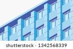 vector isometric building... | Shutterstock .eps vector #1342568339