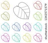 leaflet multi color icon....