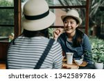 Two Asian Woman Traveler In...