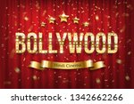 bollywood indian cinema vector... | Shutterstock .eps vector #1342662266