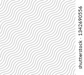 wave lines pattern abstract... | Shutterstock .eps vector #1342690556