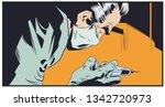 stock illustration. doctor in... | Shutterstock .eps vector #1342720973
