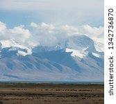 snow mountain scenery china   Shutterstock . vector #1342736870