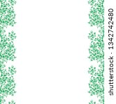 hand drawn flower seamless... | Shutterstock .eps vector #1342742480