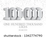 anniversary or event 100000.... | Shutterstock .eps vector #1342774790