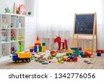 Children's playroom with...