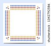 illustration of ornament of...   Shutterstock .eps vector #1342792586