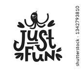motivational phrases  sayings... | Shutterstock .eps vector #1342793810