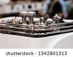 barista working in a coffee... | Shutterstock . vector #1342801313