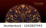 vintage luxury decorative... | Shutterstock .eps vector #1342807493
