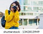 successful  black female...   Shutterstock . vector #1342813949