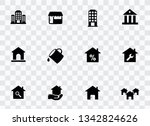 house icons set | Shutterstock .eps vector #1342824626