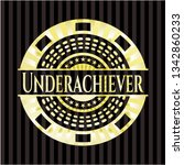 underachiever gold badge | Shutterstock .eps vector #1342860233