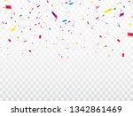 celebration background template ... | Shutterstock .eps vector #1342861469