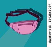 image fanny pack | Shutterstock .eps vector #1342865039