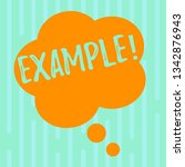 word writing text example.... | Shutterstock . vector #1342876943