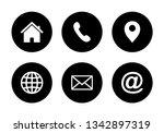 website set icon  web icon set... | Shutterstock .eps vector #1342897319
