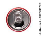 open aluminum cans isolated on... | Shutterstock . vector #1342901249