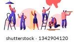 repair service professional... | Shutterstock .eps vector #1342904120