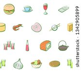 food images. background for... | Shutterstock .eps vector #1342905899
