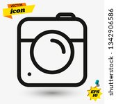 camera icon in instagram flat...
