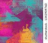 abstract background art. 2d... | Shutterstock . vector #1342909760