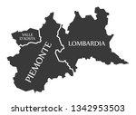 valle d aosta   piemonte  ...   Shutterstock .eps vector #1342953503
