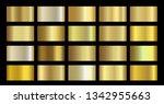 gold metallic  bronze  silver ...   Shutterstock .eps vector #1342955663