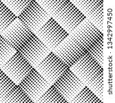 seamless halftone dots pattern   Shutterstock .eps vector #1342997450
