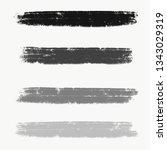 watercolor splash element | Shutterstock . vector #1343029319