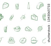 food images. background for... | Shutterstock .eps vector #1343065733