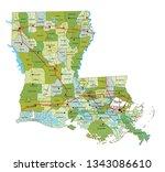highly detailed editable... | Shutterstock .eps vector #1343086610