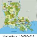 highly detailed editable... | Shutterstock .eps vector #1343086613