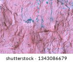 Pink Backgrounds. Texture marble pattern. Rock background. Cracks wall. Rock holography. Holographic neon colors.  Abstract background. Lava. Rock texture. Stone background. Rough structure.