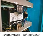 electrical equipment used to... | Shutterstock . vector #1343097350