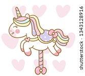 Cute Unicorn Vector Carousel...