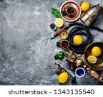 hookah with fruit aroma for... | Shutterstock . vector #1343135540