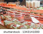 strawberry shortcake ... | Shutterstock . vector #1343141000