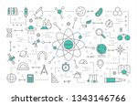 science concept illustration.... | Shutterstock . vector #1343146766